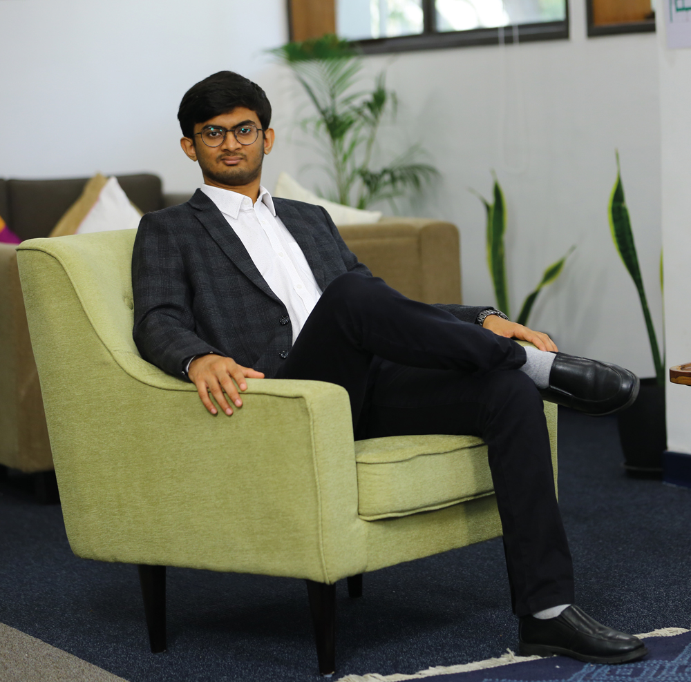 Vatsal Kanakiya, 23, recently joined Mehta Ventures and is also the chief technology officer at 100X.VC