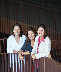 The Antinori sisters: (L-R) Albiera, Allegra and Alessia